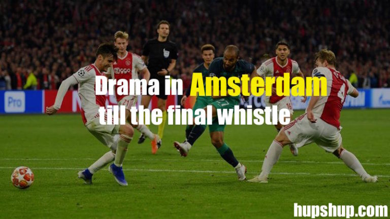 Drama in Amsterdam till the final whistle