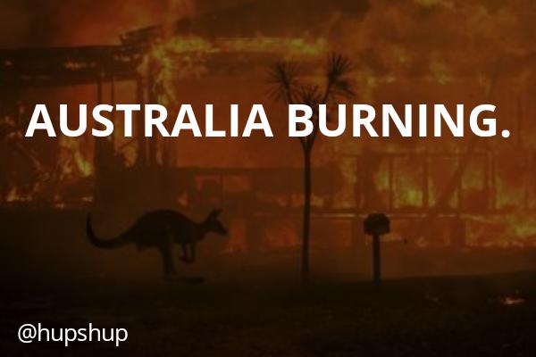 AUSTRALIA BURNING?