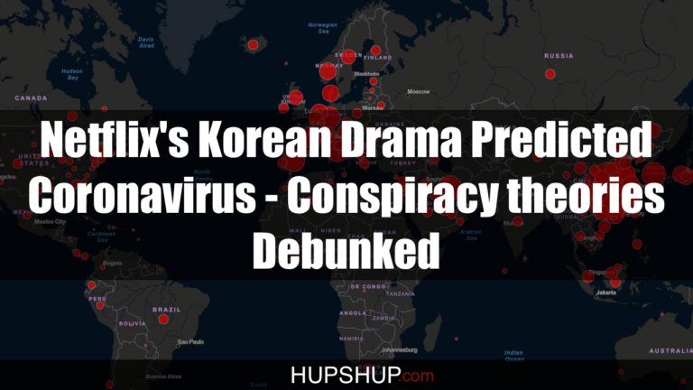 Netflix's Korean Drama Predicted Coronavirus – Conspiracy theories Debunked